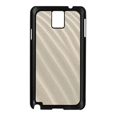 Sand Pattern Wave Texture Samsung Galaxy Note 3 N9005 Case (black) by Simbadda