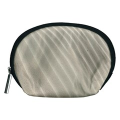 Sand Pattern Wave Texture Accessory Pouches (medium)  by Simbadda