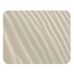 Sand Pattern Wave Texture Double Sided Flano Blanket (large)  by Simbadda