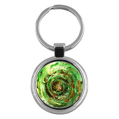 Canvas Acrylic Design Color Key Chains (round)  by Simbadda