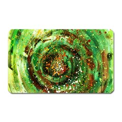 Canvas Acrylic Design Color Magnet (rectangular) by Simbadda