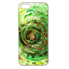 Canvas Acrylic Design Color Apple Seamless Iphone 5 Case (clear) by Simbadda