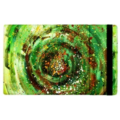 Canvas Acrylic Design Color Apple Ipad 3/4 Flip Case by Simbadda