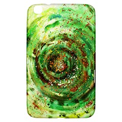 Canvas Acrylic Design Color Samsung Galaxy Tab 3 (8 ) T3100 Hardshell Case  by Simbadda