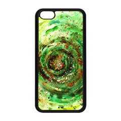 Canvas Acrylic Design Color Apple Iphone 5c Seamless Case (black) by Simbadda