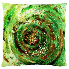 Canvas Acrylic Design Color Standard Flano Cushion Case (one Side) by Simbadda