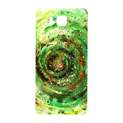 Canvas Acrylic Design Color Samsung Galaxy Alpha Hardshell Back Case by Simbadda