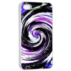 Canvas Acrylic Digital Design Apple Iphone 4/4s Seamless Case (white) by Simbadda