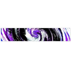 Canvas Acrylic Digital Design Flano Scarf (large) by Simbadda