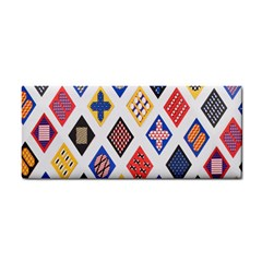 Plaid Triangle Sign Color Rainbow Cosmetic Storage Cases by Alisyart