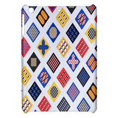 Plaid Triangle Sign Color Rainbow Apple Ipad Mini Hardshell Case by Alisyart