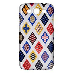 Plaid Triangle Sign Color Rainbow Samsung Galaxy Mega 5 8 I9152 Hardshell Case  by Alisyart