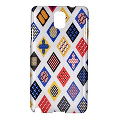 Plaid Triangle Sign Color Rainbow Samsung Galaxy Note 3 N9005 Hardshell Case by Alisyart