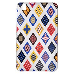 Plaid Triangle Sign Color Rainbow Samsung Galaxy Tab Pro 8 4 Hardshell Case by Alisyart