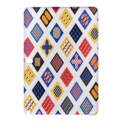 Plaid Triangle Sign Color Rainbow Samsung Galaxy Tab Pro 12 2 Hardshell Case