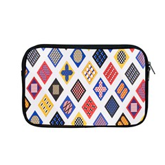 Plaid Triangle Sign Color Rainbow Apple Macbook Pro 13  Zipper Case by Alisyart
