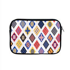 Plaid Triangle Sign Color Rainbow Apple Macbook Pro 15  Zipper Case by Alisyart