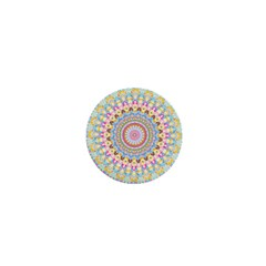 Kaleidoscope Star Love Flower Color Rainbow 1  Mini Magnets by Alisyart