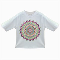 Kaleidoscope Star Love Flower Color Rainbow Infant/toddler T Shirts by Alisyart