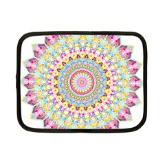 Kaleidoscope Star Love Flower Color Rainbow Netbook Case (small)  by Alisyart