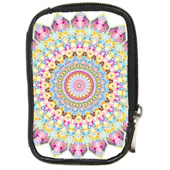 Kaleidoscope Star Love Flower Color Rainbow Compact Camera Cases by Alisyart