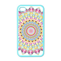 Kaleidoscope Star Love Flower Color Rainbow Apple Iphone 4 Case (color)
