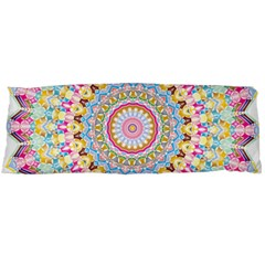 Kaleidoscope Star Love Flower Color Rainbow Body Pillow Case (dakimakura) by Alisyart