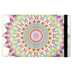 Kaleidoscope Star Love Flower Color Rainbow Apple Ipad 3/4 Flip Case by Alisyart
