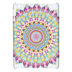 Kaleidoscope Star Love Flower Color Rainbow Apple Ipad Mini Hardshell Case by Alisyart
