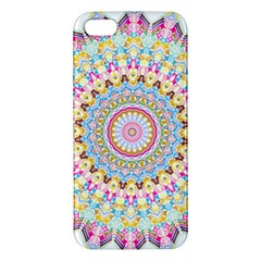 Kaleidoscope Star Love Flower Color Rainbow Apple Iphone 5 Premium Hardshell Case by Alisyart