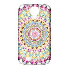 Kaleidoscope Star Love Flower Color Rainbow Samsung Galaxy S4 Classic Hardshell Case (pc+silicone) by Alisyart