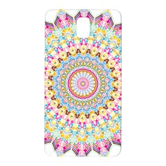 Kaleidoscope Star Love Flower Color Rainbow Samsung Galaxy Note 3 N9005 Hardshell Back Case by Alisyart