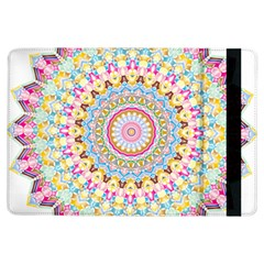 Kaleidoscope Star Love Flower Color Rainbow Ipad Air Flip by Alisyart