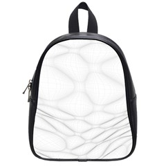 Line Stone Grey Circle School Bags (small)  by Alisyart