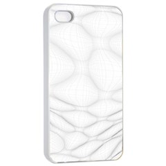 Line Stone Grey Circle Apple Iphone 4/4s Seamless Case (white) by Alisyart