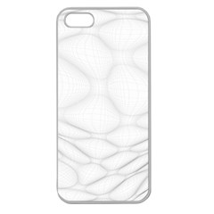 Line Stone Grey Circle Apple Seamless Iphone 5 Case (clear)