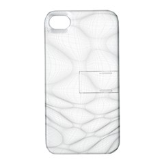 Line Stone Grey Circle Apple Iphone 4/4s Hardshell Case With Stand by Alisyart
