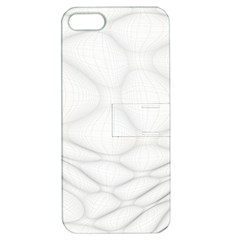 Line Stone Grey Circle Apple Iphone 5 Hardshell Case With Stand by Alisyart