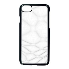 Line Stone Grey Circle Apple Iphone 7 Seamless Case (black) by Alisyart