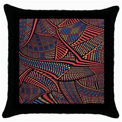Random Inspiration Throw Pillow Case (black) by Alisyart