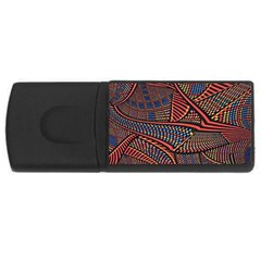 Random Inspiration Usb Flash Drive Rectangular (4 Gb) by Alisyart