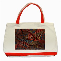Random Inspiration Classic Tote Bag (red) by Alisyart