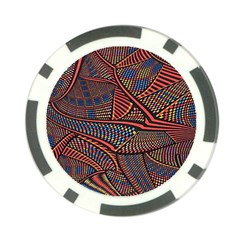 Random Inspiration Poker Chip Card Guard