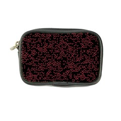 Random Pink Black Red Coin Purse by Alisyart