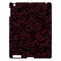 Random Pink Black Red Apple Ipad 3/4 Hardshell Case by Alisyart