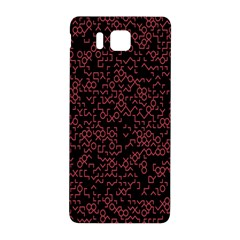 Random Pink Black Red Samsung Galaxy Alpha Hardshell Back Case by Alisyart