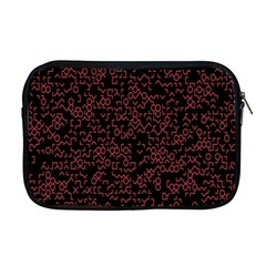 Random Pink Black Red Apple Macbook Pro 17  Zipper Case by Alisyart