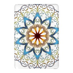 Prismatic Flower Floral Star Gold Green Purple Orange Samsung Galaxy Tab Pro 10 1 Hardshell Case by Alisyart