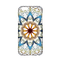 Prismatic Flower Floral Star Gold Green Purple Orange Apple Iphone 6/6s Hardshell Case by Alisyart