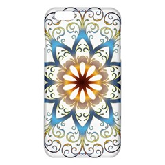 Prismatic Flower Floral Star Gold Green Purple Orange Iphone 6 Plus/6s Plus Tpu Case by Alisyart